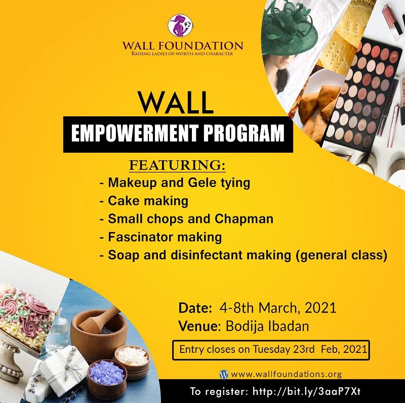 Wall Foundation Ladies Skill